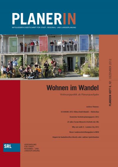 PLANERN 6/2012: Wohnen im Wandel