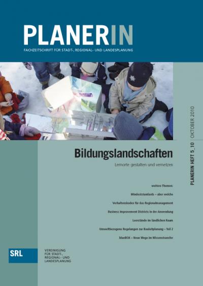 PLANERIN 5/2010: Bildungslandschaften