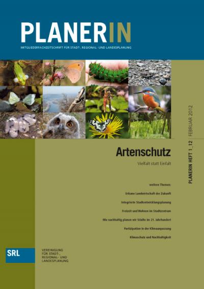 PLANERIN 1/2012: Artenschutz