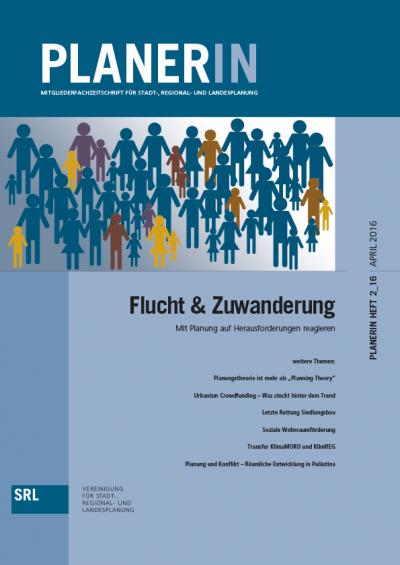 PLANERIN 2/2016: Flucht & Zuwanderung