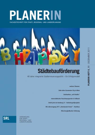 PLANERIN 6/2011: Städtebauförderung