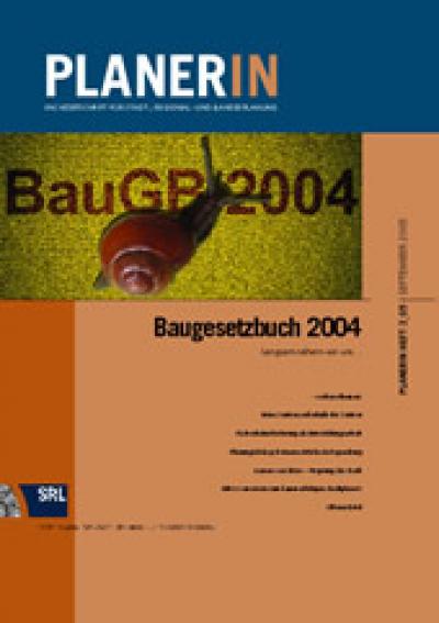 PLANERIN 3/2005: Baugesetzbuch 2004