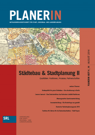 PLANERIN 4/2014: Städtebau & Stadtplanung II