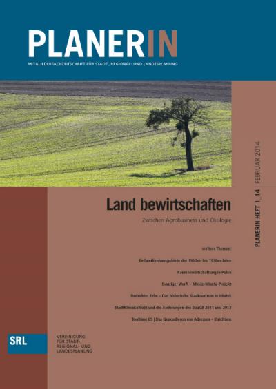 PLANERIN 1/2014: Land bewirtschaften