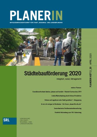 PLANERIN 2/2020: Städtebauförderung 2020 | integriert, sozial, klimagerecht