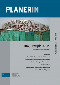 PLANERIN 2/2014: IBA, Olympia & Co.