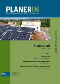 PLANERIN 4/2015: Klimaschutz - Energie + Stadt