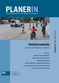 PLANERIN 4/2020: Verkehrswende - Konzepte – Rahmenbedingungen – Maßnahmen