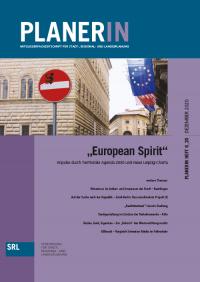 "PLANERIN: 6/2020: ""European Spirit"" - Impulse durch Territoriale Agenda 2030 und Neue Leipzig-Charta"