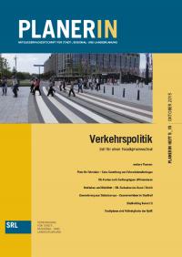 PLANERIN 5/2015: Verkehrspolitik - Zeit für einen Paradigmenwechsel
