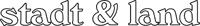 stadt & land gmbh, Logo